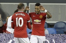 Memphis Depay opened his United account in last night's win over San Jose