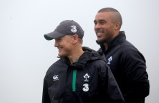 'He's tough to please' – Joe Schmidt's high standards don't faze Simon Zebo