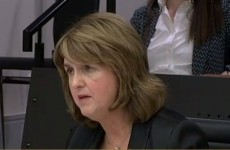 "Joan Burton to banking inquiry - ""We would have let Anglo fail"""