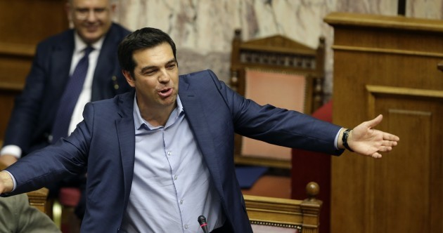 Greece latest: Tough new reforms passed in marathon late-night session