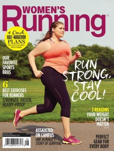 Women's Running magazine praised for showing the sport's for everyone