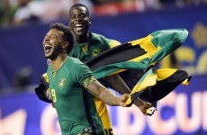 This wonderful free-kick shocked the US & sent Jamaica to Gold Cup final