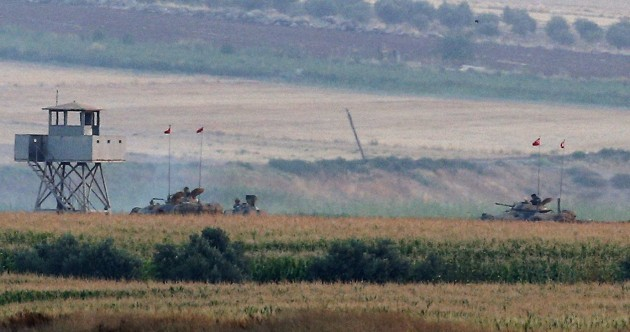 35 militants believed dead as Turkey gets very, very aggressive towards Islamic State