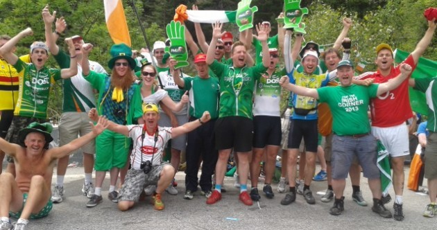Irish cycling fans ready to turn Tour de France's most famous climb green - again
