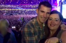 Of COURSE there was a proposal at the Ed Sheeran gig last night