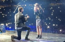 Kodaline's bassist proposed to his girlfriend on stage at last night's Ed Sheeran gig