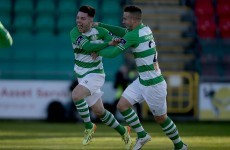 Miele's thunderbolt the highlight as Shamrock Rovers bounce back from European exit