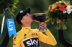 Froome - 'I'm happy to be in this position to speak for cycling today'