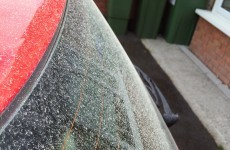 An estate in Limerick was covered with dust over the weekend