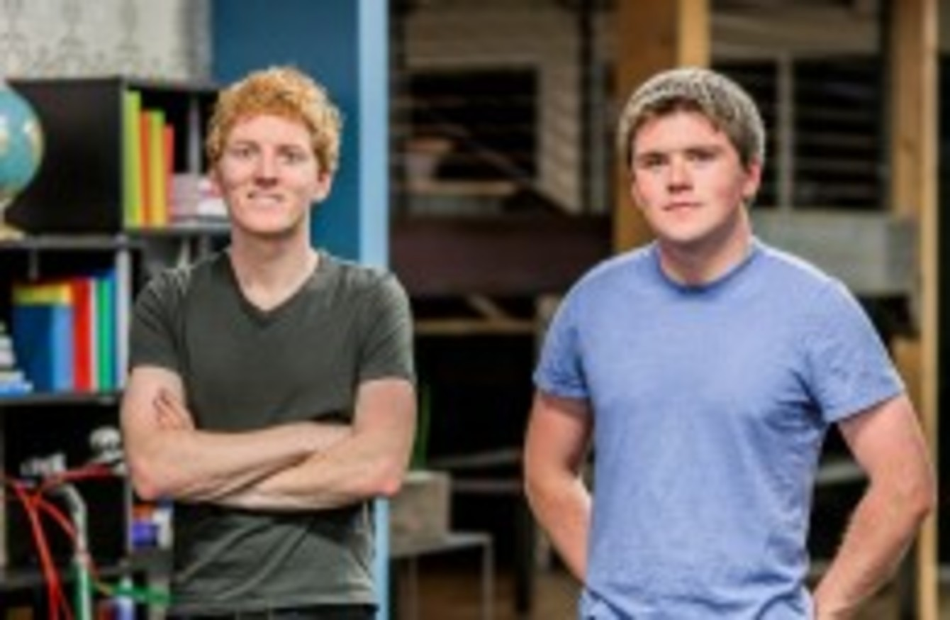 collison brothers middot ie from business etc the payments startup founded by two irish brothers now worth a staggering 5 billion
