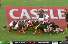 Analysis: All Blacks scrum showed its weakness against South Africa