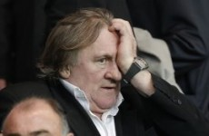 Ukraine has blacklisted French actor Gerard Depardieu