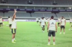 It wouldn't be pre-season without some outrageous showboating from Ronaldo