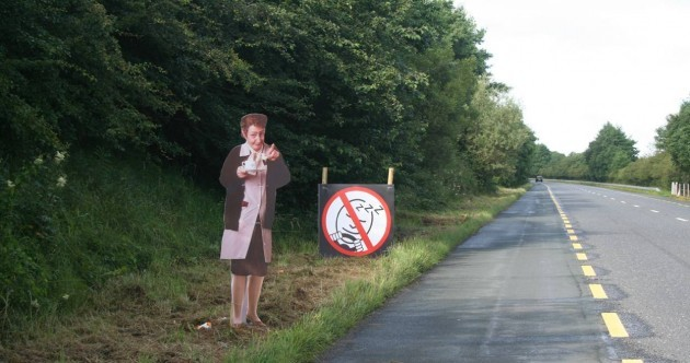 Mrs Doyle is keeping the roads of Mayo safe