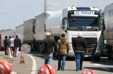 Irish truck drivers face threats from migrants with 'iron bars, broken bottles and machetes'