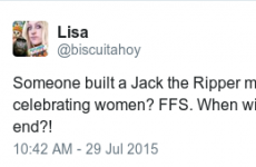 People are angry that a museum meant to celebrate women is now devoted to Jack the Ripper