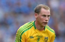 Missing Lacey only change for Donegal ahead of Croke Park clash with Galway