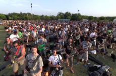 1,000 musicians played Foo Fighters all together to get Dave Grohl's attention