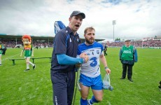 Good news for Waterford hurlers on the injury front before clash with Kilkenny