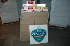 Eight million cigarettes worth over €3 million seized at Dublin Port