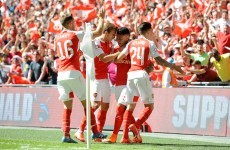 Mourinho's hoodoo over Wenger ended as Gunners take the Community Shield