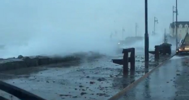 WATCH: This is what the weather looks like in Galway tonight