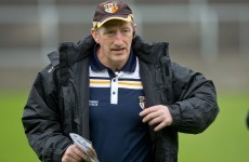 This Waterford native won't be managing the Antrim hurlers next year
