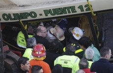 Seven killed as bus tries to beat train in Buenos Aires