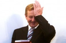 When is Enda Kenny going to step down?