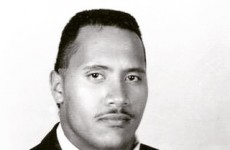 This photo of The Rock as a 15-year-old is making men everywhere feel insecure