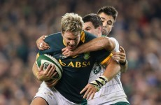 Jean de Villiers has to be one of the most unlucky men in rugby