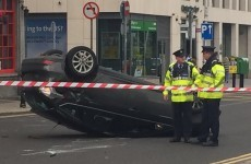 Dublin quays re-opened after two-car collision