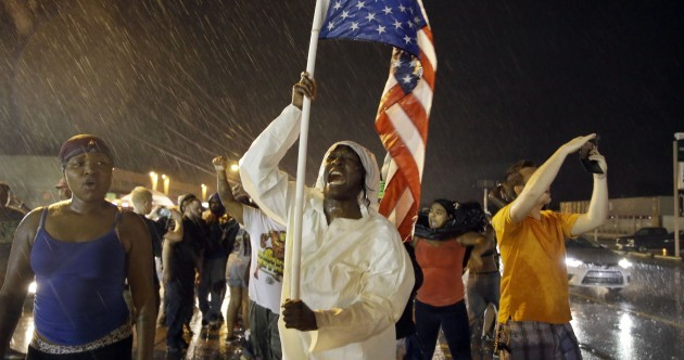 State of emergency declared in Ferguson after remembrance march ends in violence