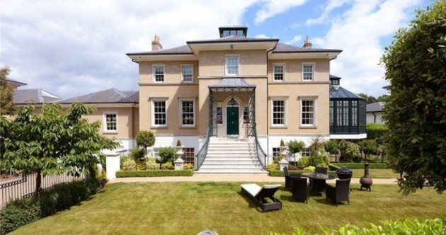 Make believe you live in this mansion in Malahide…