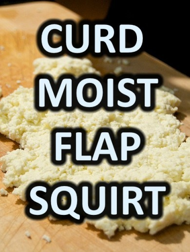 What do the words 'curd', 'moist' and 'flap' have in common?