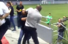 Paulo Wanchope involved in punch-up with security guard at Costa Rica game