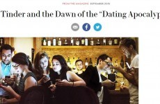 Tinder is NOT happy with this Vanity Fair article. Not happy at all