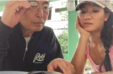 Woman discovers the homeless man she is photographing is her father