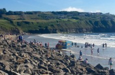 This ice cream man got himself into a sticky situation on a Donegal beach