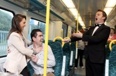 This woman is marrying her 'Train Boy' – and they had a special journey this morning