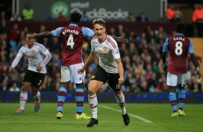 As it happened: Aston Villa v Manchester United, Premier League