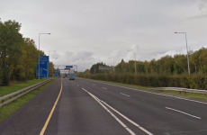 Crash on M50 causing traffic delays