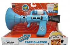 Dublin Airport security just seized a Minion fart gun from a toddler