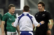 O'Driscoll pays tribute to McCaw after losing Tests record