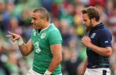 Impressive Zebo helps Schmidt's Ireland to hard-fought win over Scotland