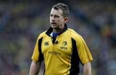 Nigel Owens may no longer be refereeing games involving Llanelli Scarlets