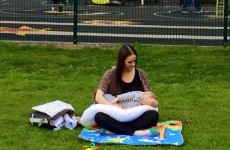 Hundreds of Irish babies were breastfed in public yesterday and nobody noticed