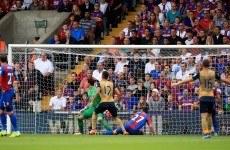 Damien Delaney's own-goal hands Arsenal a first league win of the season