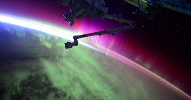 The best place to see the Northern Lights? From space…