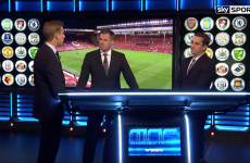 Gary Neville on the Benteke goal: 'They cock about with the offside rule every single year'